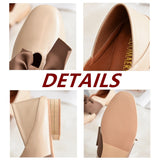 2019 New Patent Leather Loafers Women's Flats Shoes