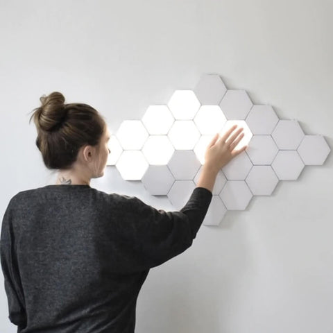 DIY Honeycomb Motion Light