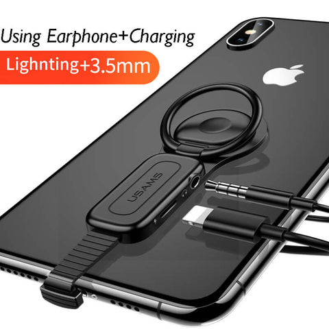 Iphone Creative Adapter Double Plugs