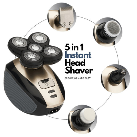 Original 5 in 1 4D Easy Head Shaver 2.0 (2019 Upgraded Version)