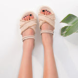 Women's Fashion Summer Casual Mid Heels Sandals Suede Straps Fish Mouth Toe