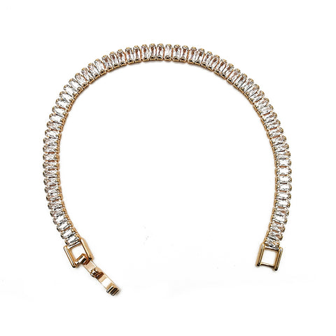 Women's White Diamond Bracelet Fashion Accessories
