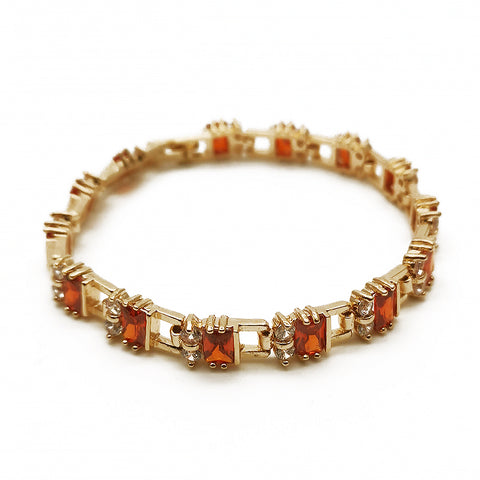 Women's Red Jeweled Bracelet Fashion Accessories