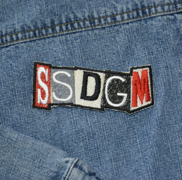 READY TO SHIP- SSDGM - Iron-on Patch - 3.8 inch