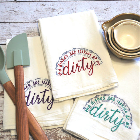 Dirty Dishes Tea Towel