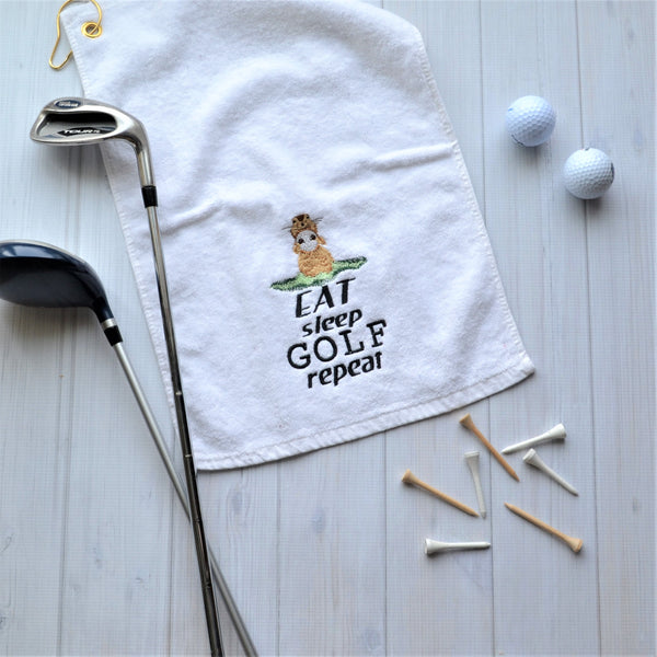 Gopher Golf Towel, LIMITED QTY LEFT, NO RESTOCKS AVAILABLE