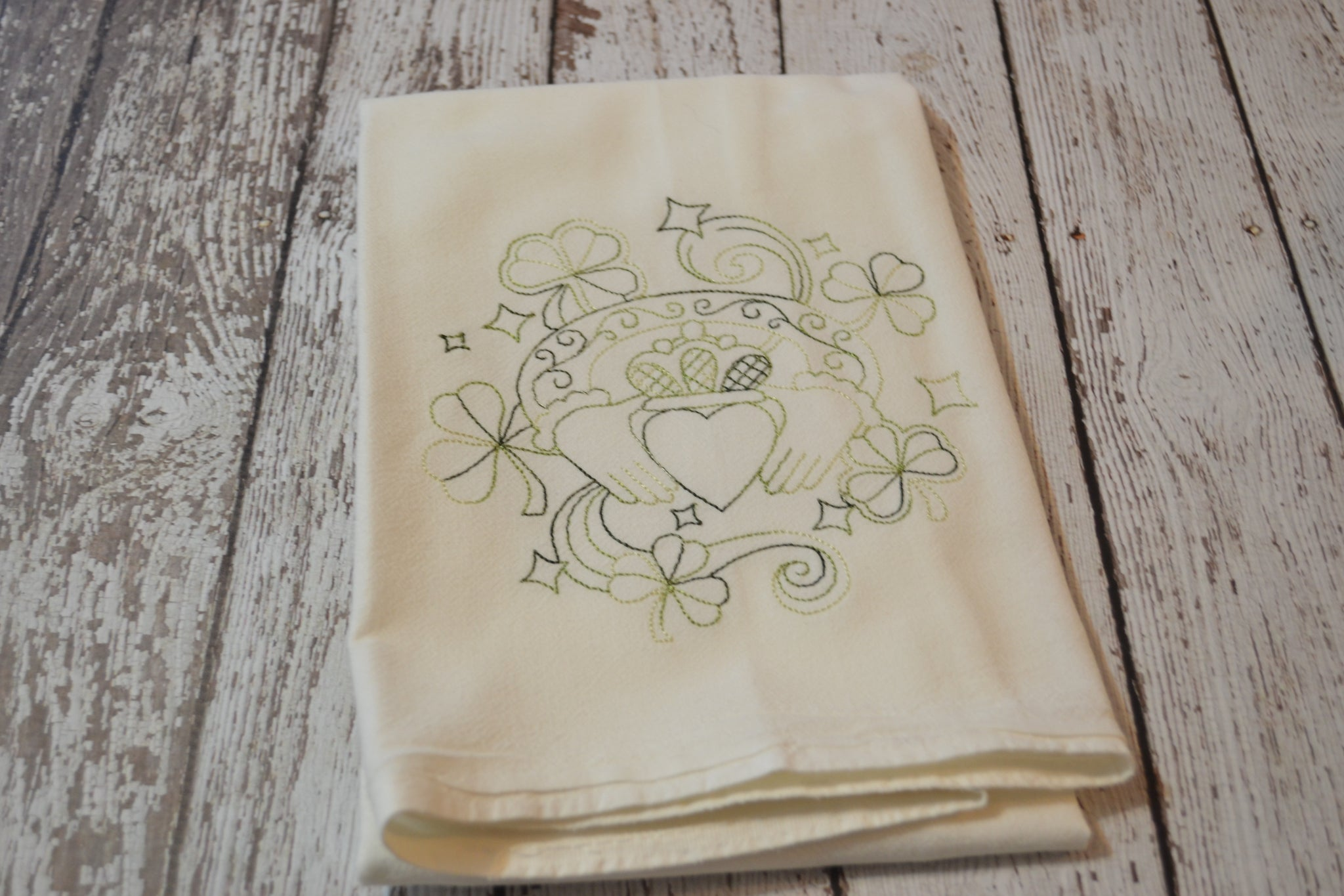 *SECONDS* Tea Towel - Claddagh - T26