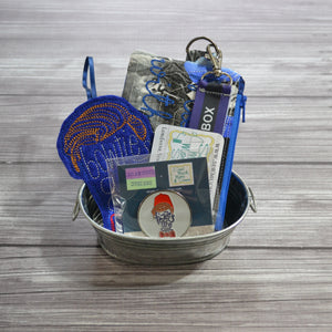 READY TO SHIP - Bowties & Fezzes Mini Gift Basket - Bundle and Save!