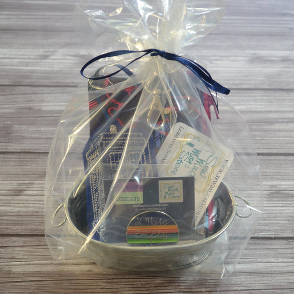 READY TO SHIP - Tardis Mini Gift Basket - Bundle and Save!