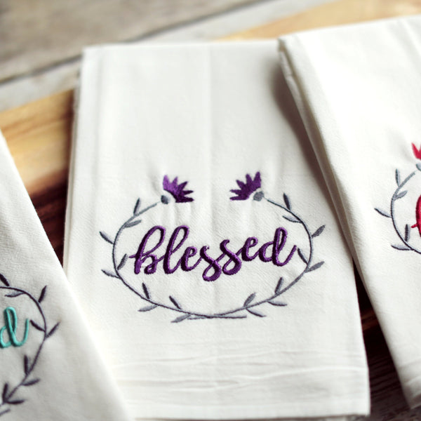 Blessed Tea Towel
