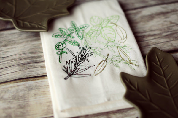 Herbs - Tea Towel