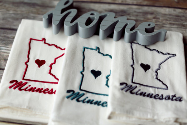 Custom State Tea Towel - All 50 States