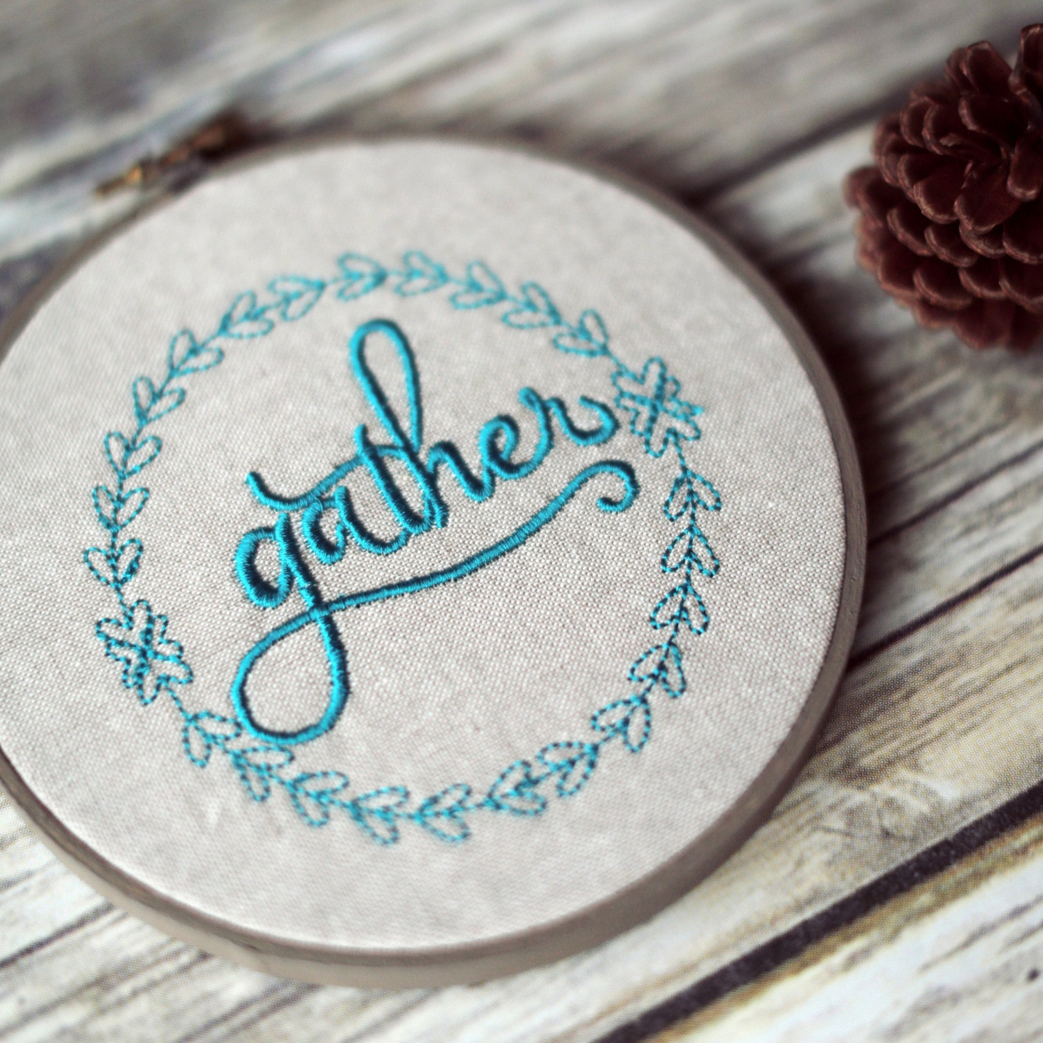 Gather Hoop Art