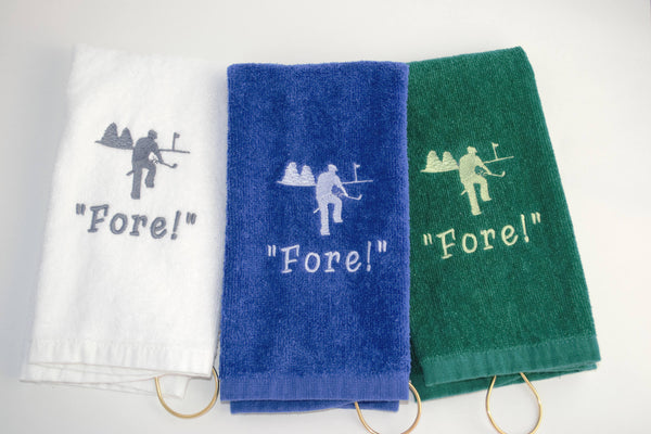 Mad Golfer Golf Towel - FORE