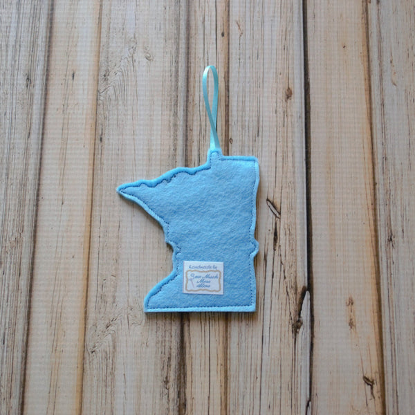 READY TO SHIP - MN Felt Ornament