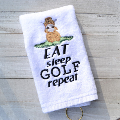 Gopher Golf Towel