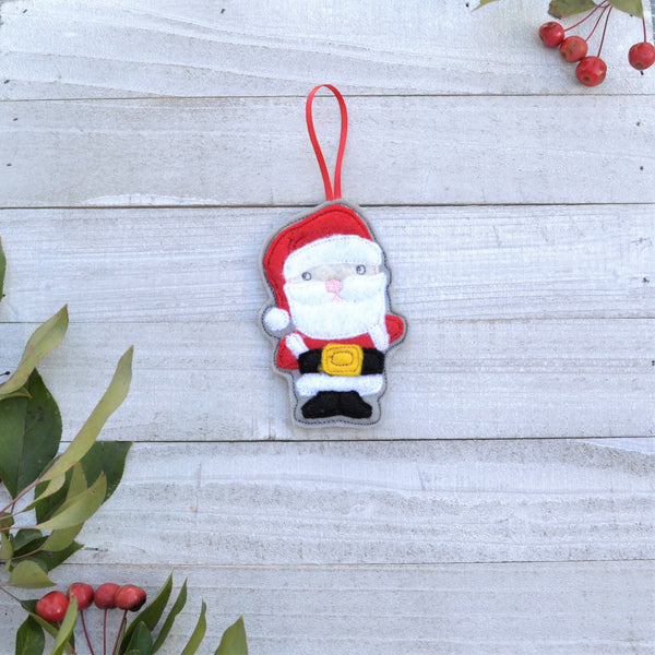 Holiday Friends Felt Ornament - Single or 3 Pack