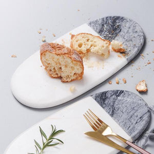 Koala Marble Platter, Oval & Rectangle
