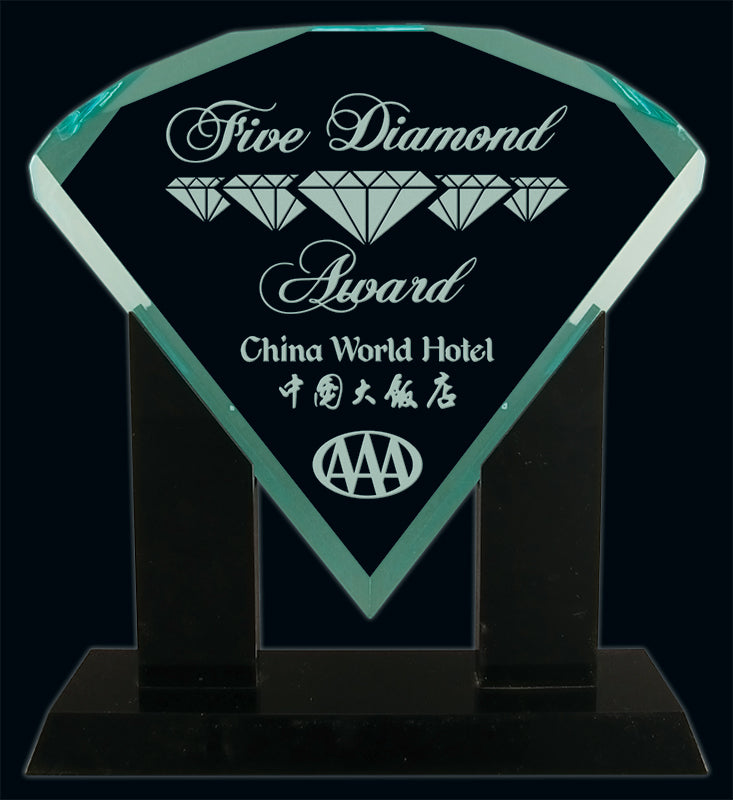 Jade Diamond Acrylic