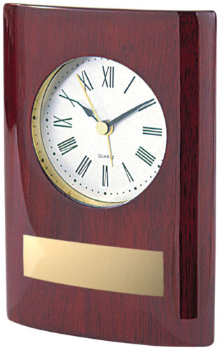 Rosewood Stand-up Clock