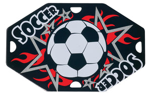 Soccer Street Tag with Ball Chain