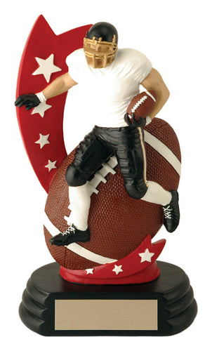 All-Star Player Football Resin