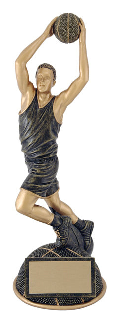 Aztec Gold Half Ball Basketball Resin - Male