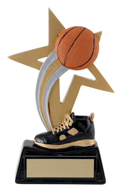 Big Star Basketball Resin