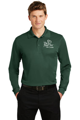 ST657 Sport-Tek® Long Sleeve Micropique Sport-Wick® Polo