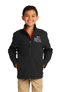Y317 Port Authority® Youth Core Soft Shell Jacket