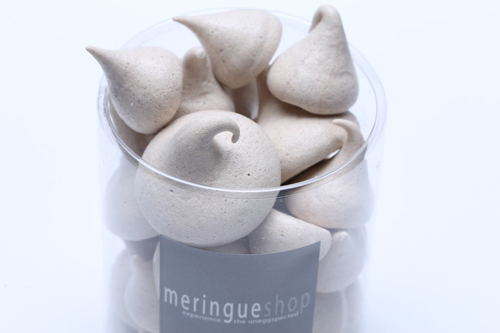 These chocolate meringues are made with organic raw cacao powder for a pleasing hint of cocoa.