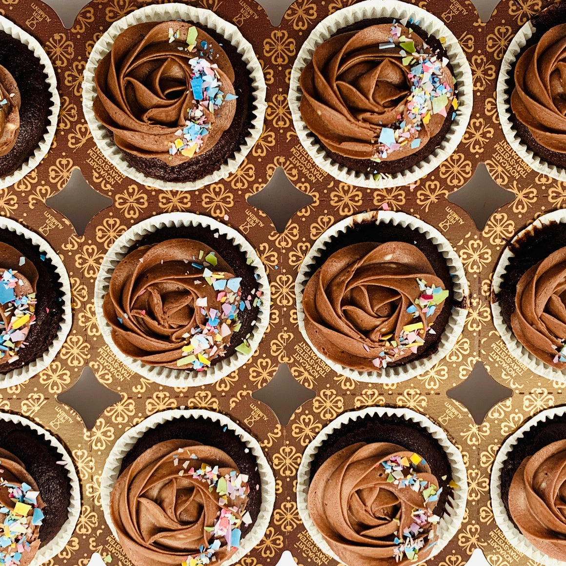 chocolate party cupcakes