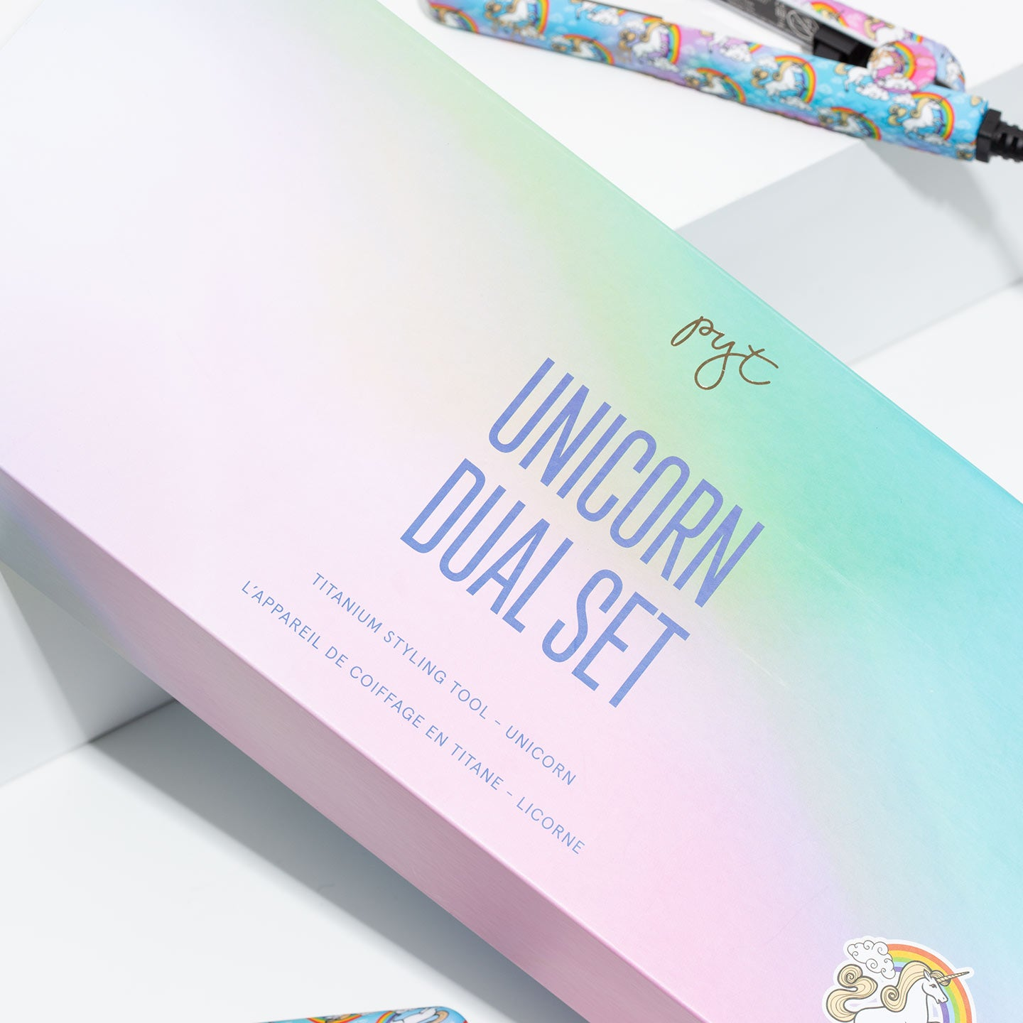 Titanium Styler Set - Unicorn