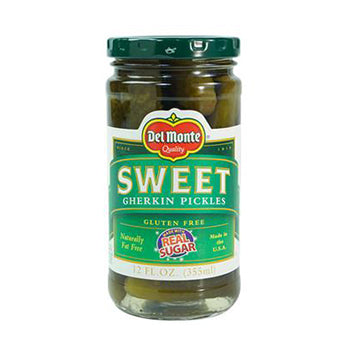 Del Monte Sweet Gherkin Pickles - 12oz