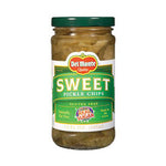 Del Monte Sweet Pickle Chips -12oz