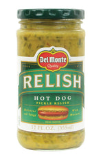 Del Monte Hot Dog Relish - 12oz