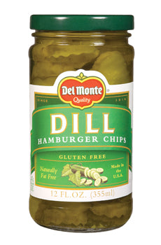 Del Monte Dill Hamburger Chips - 12oz