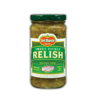 Del Monte Sugar Free Sweet Relish - 12oz