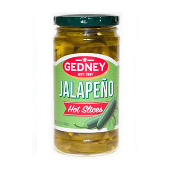 Gedney Sliced Jalapeno Peppers - 12oz