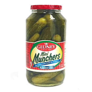 Gedney Kosher Dill Mini Munchers - 32oz