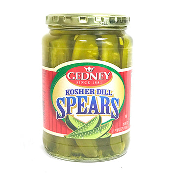Gedney Kosher Dill Spears - 24oz