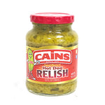 Cains Sweet Mustard Hot Dog Relish - 10oz