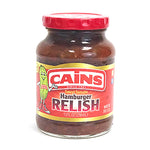 Cains Sweet Tomato Hamburger Relish - 10oz