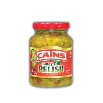Cains Tangy Dill Relish - 10oz
