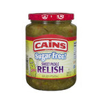 Cains Sugar Free Sweet Pickle Relish - 16oz
