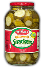 Gedney Bread & Butter Snackers - 1/2 Gallon