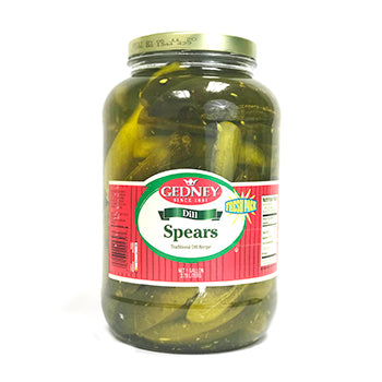 Gedney Fresh Pack Dill Spears - 1 Gallon