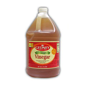 Gedney Apple Cider Flavored Vinegar - 1 Gallon