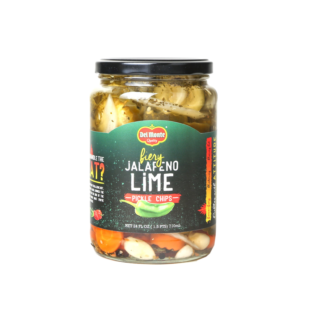 Del Monte Jalapeno Lime Pickle Chips - 24oz