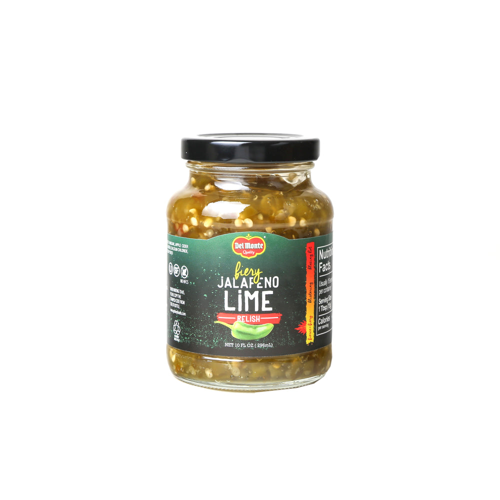 Del Monte Jalapeno Lime Relish - 10oz